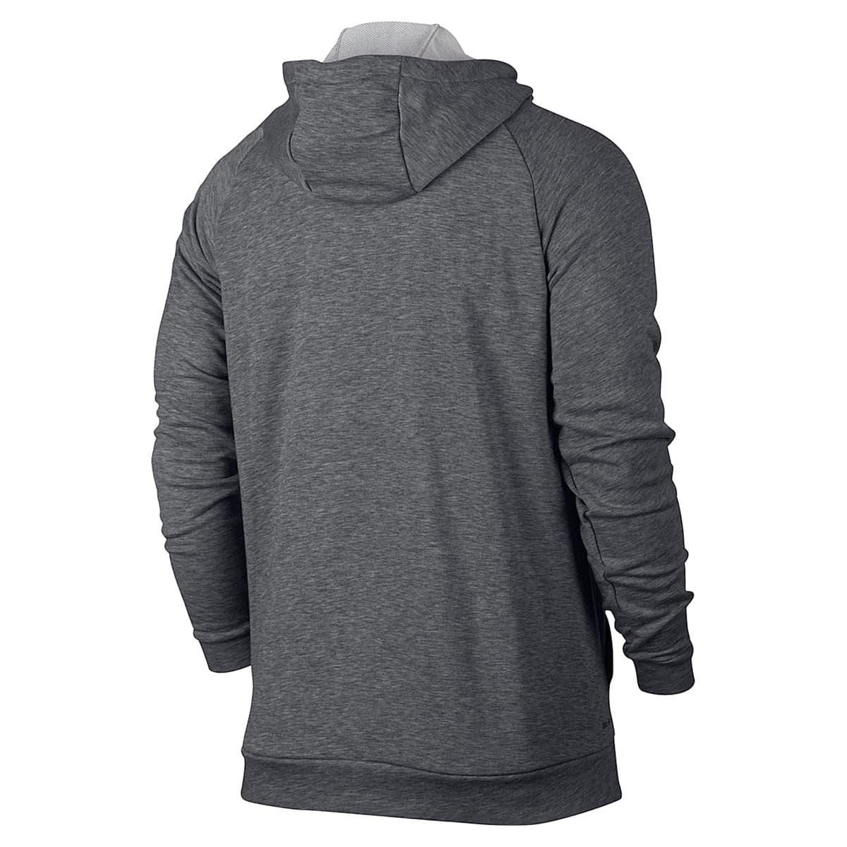 Dri-Fit Fleece Erkek Gri Kapüşonlu Sweatshirt