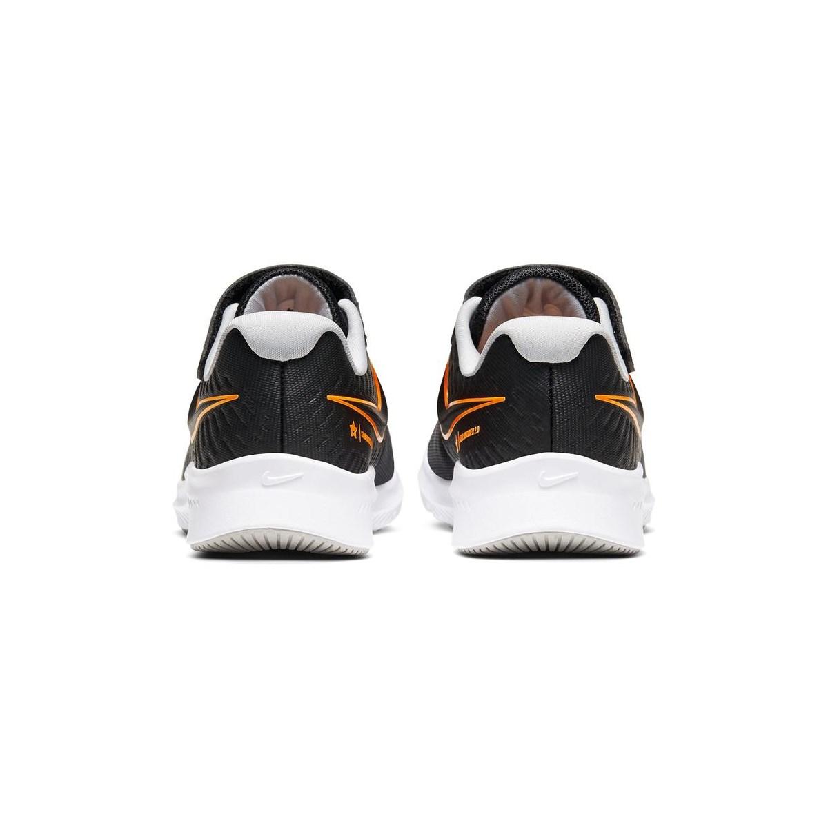 Star Runner 2 Çocuk Siyah Koşu Ayakkabısı