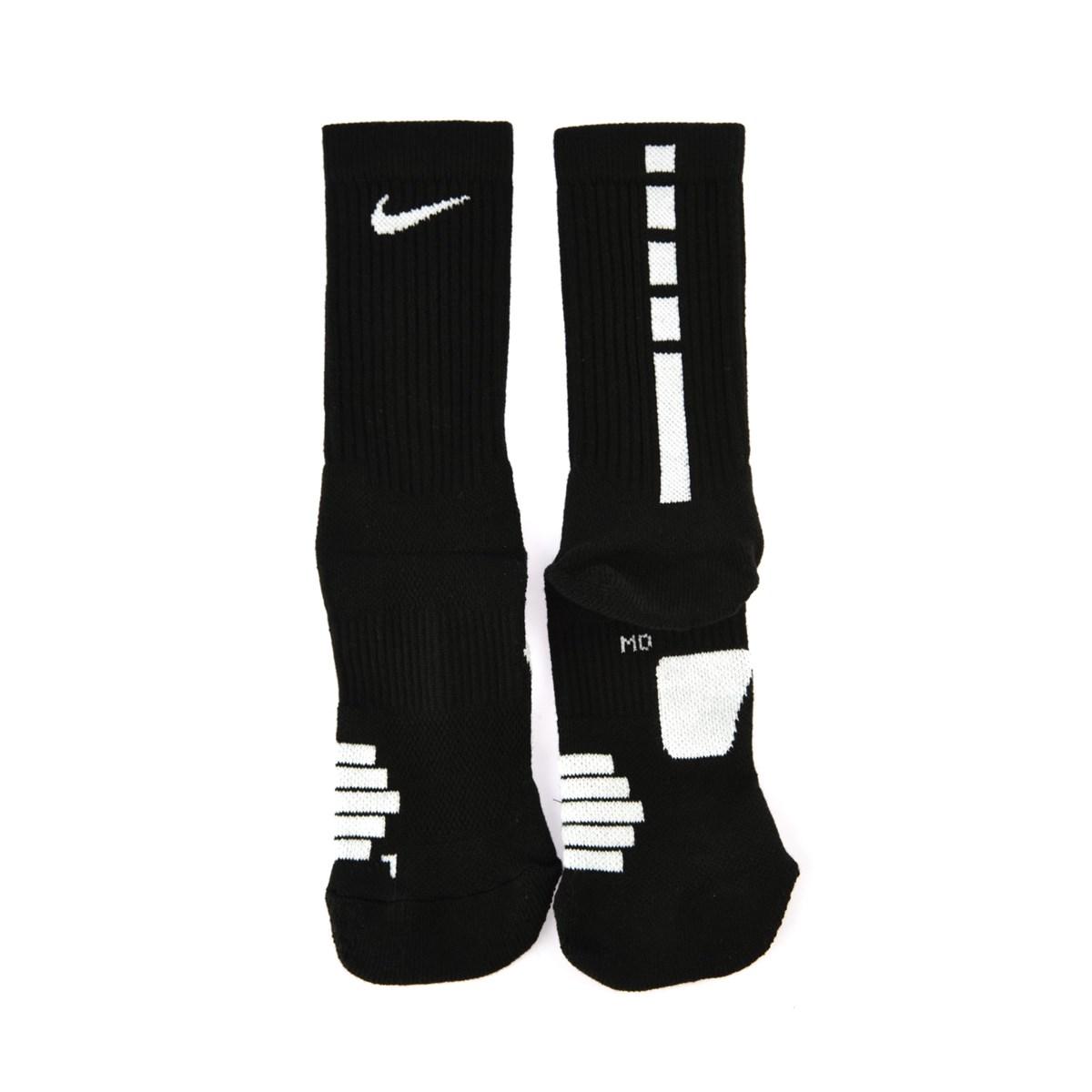 Elite Crew Siyah Basketbol Çorabı