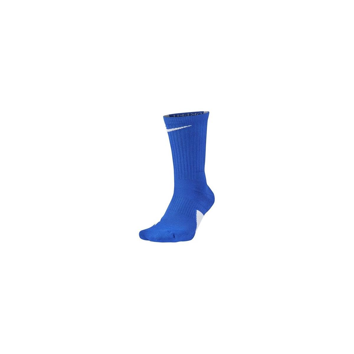 Elite Crew Erkek Mavi Basketbal Çorabı (SX7622-480)