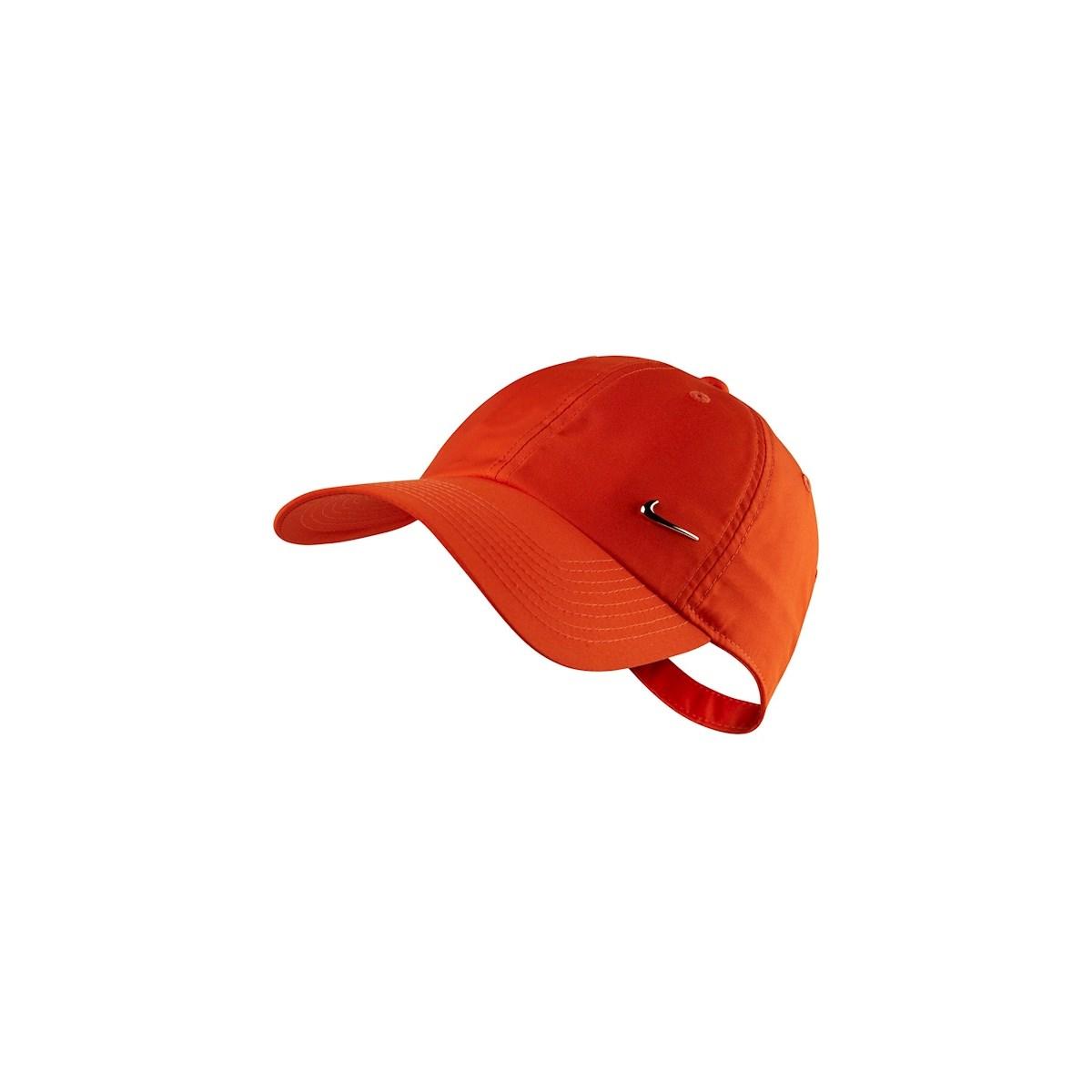 H86 Metal Swoosh Turuncu Spor Şapka (943092-891)