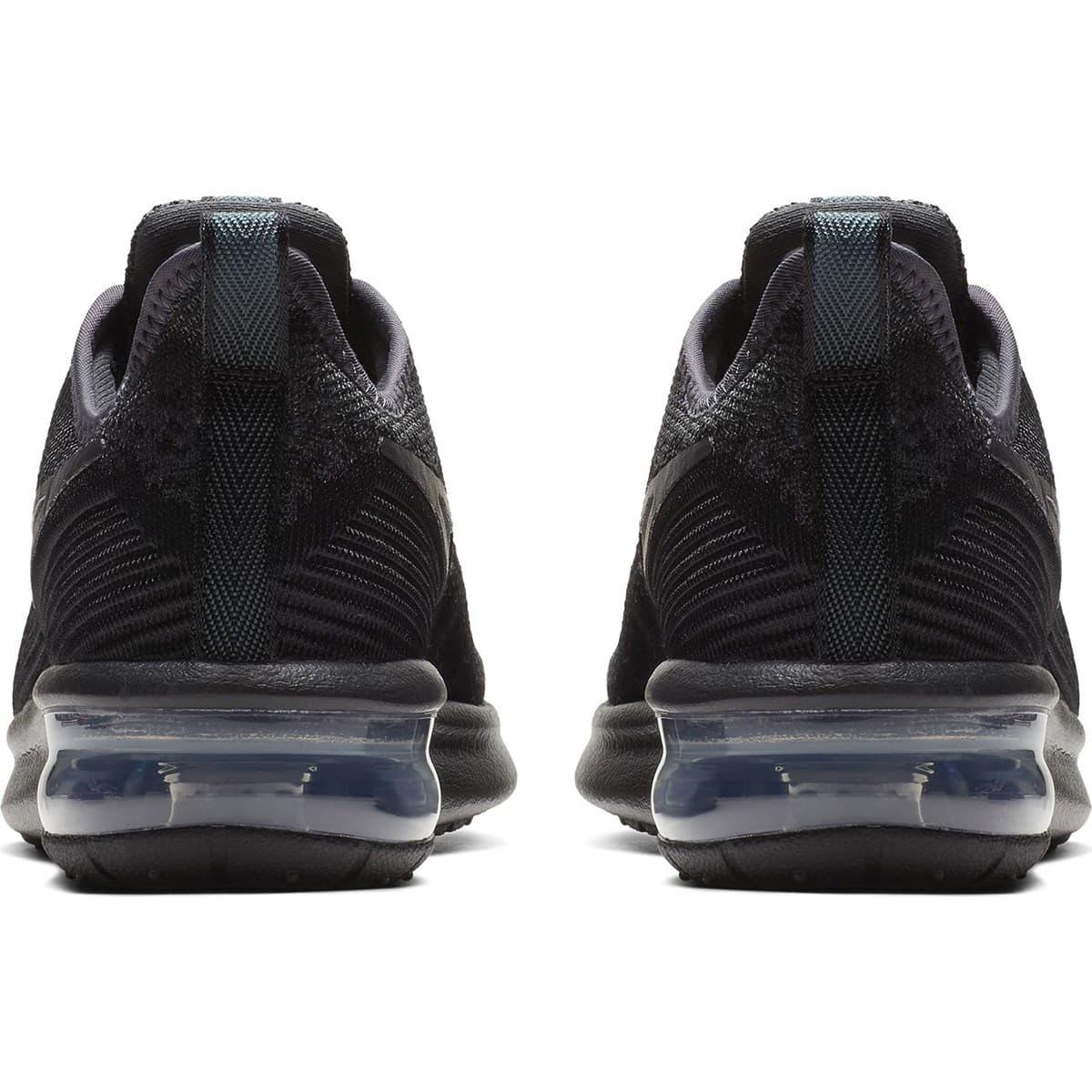 Air Max Sequent 4 Siyah Koşu Ayakkabısı (AO4486-002)
