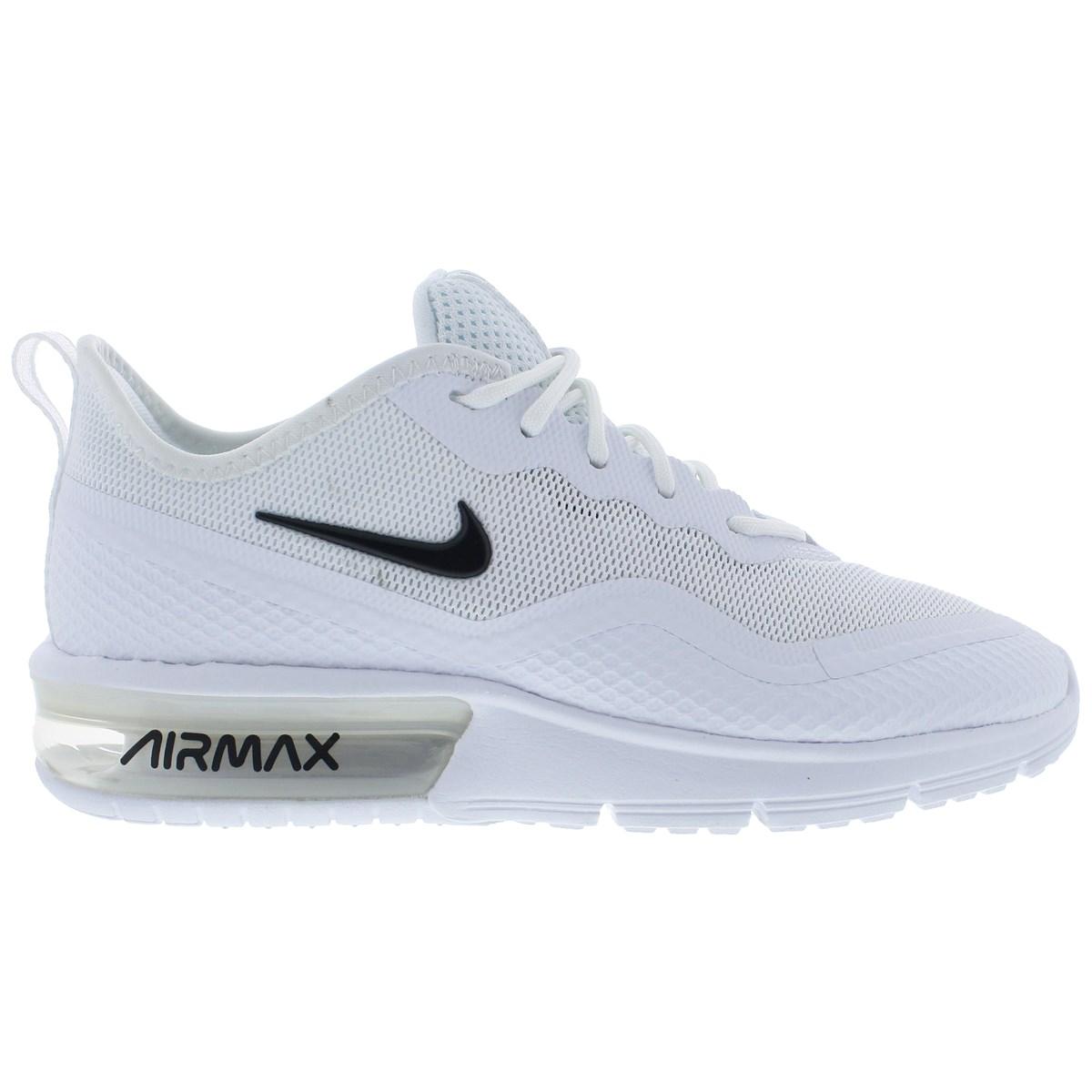 Air Max Sequent 4.5 Kadın Beyaz Spor Ayakkabı