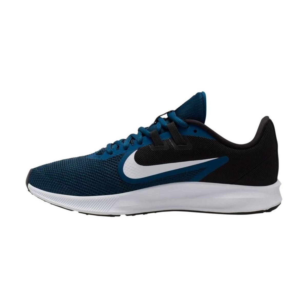 Downshifter 9 Kadın Mavi Koşu Ayakkabısı (AQ7486-400)