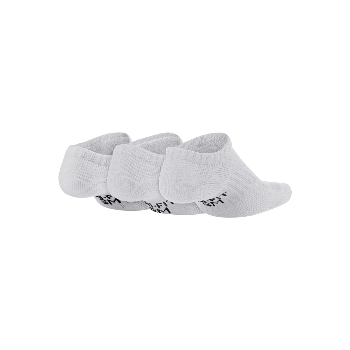 Everyday Cush 3'lü Beyaz Spor Çorap