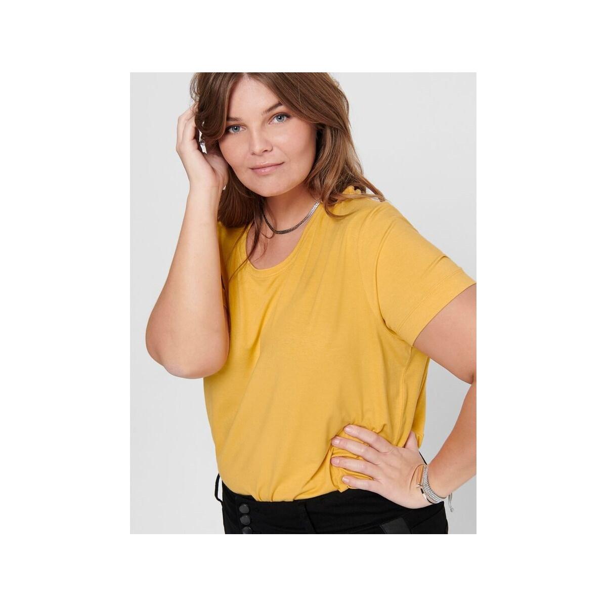 Carcarmakoma Kadın Sarı Tişört