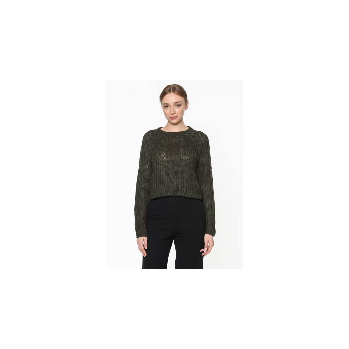 Lane L/s O-Neck Pullover Knt