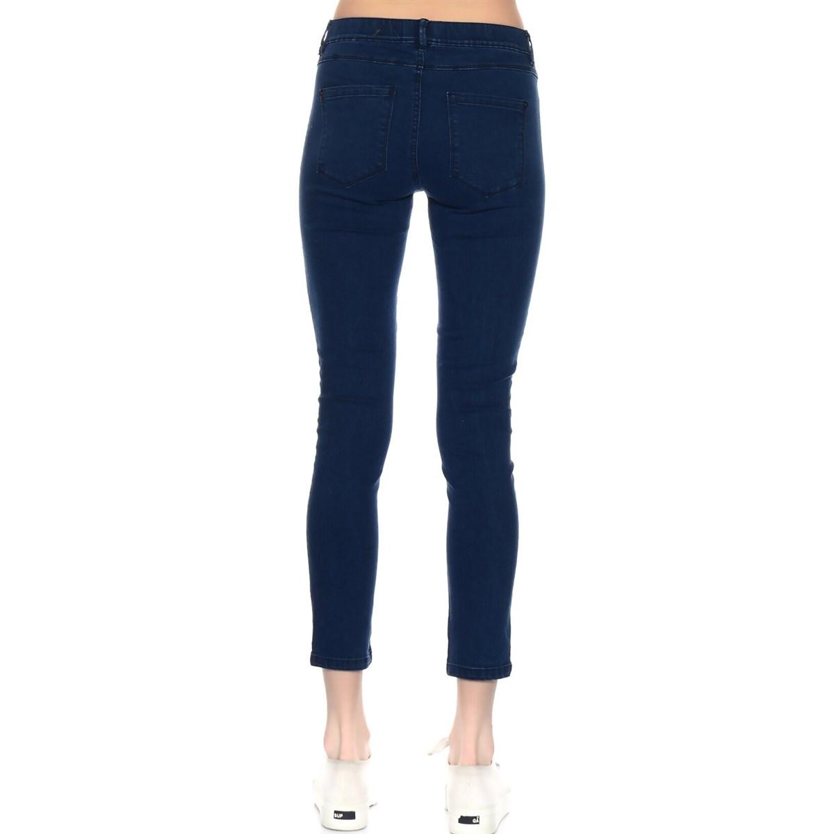 Onlfame Reg Skinny Leggings Med Blue