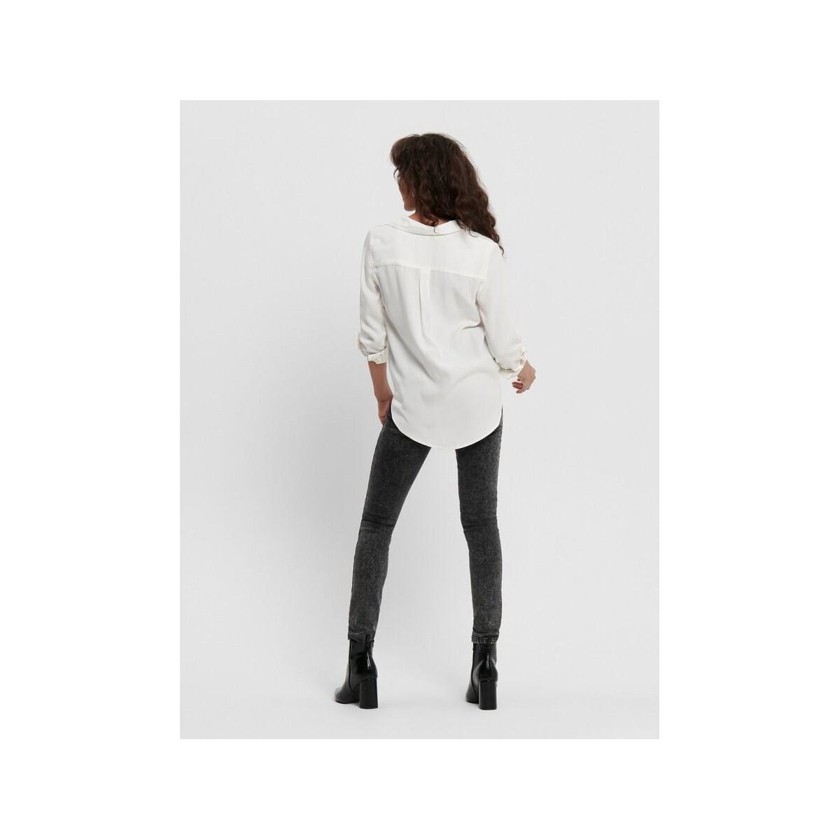 Onlkarla L/s Shirt Wvn