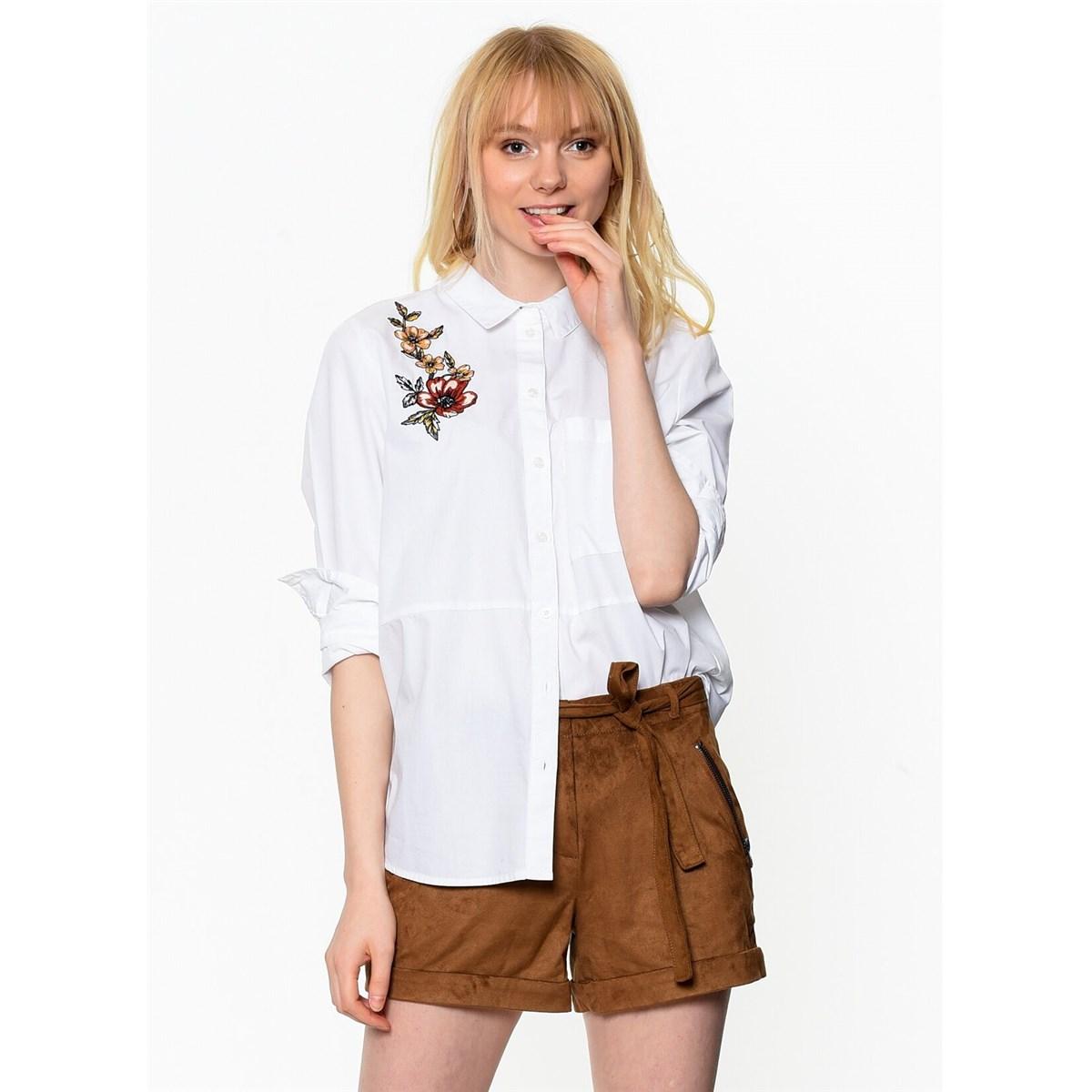 Onllara L/s Oversized Shirt Wvn