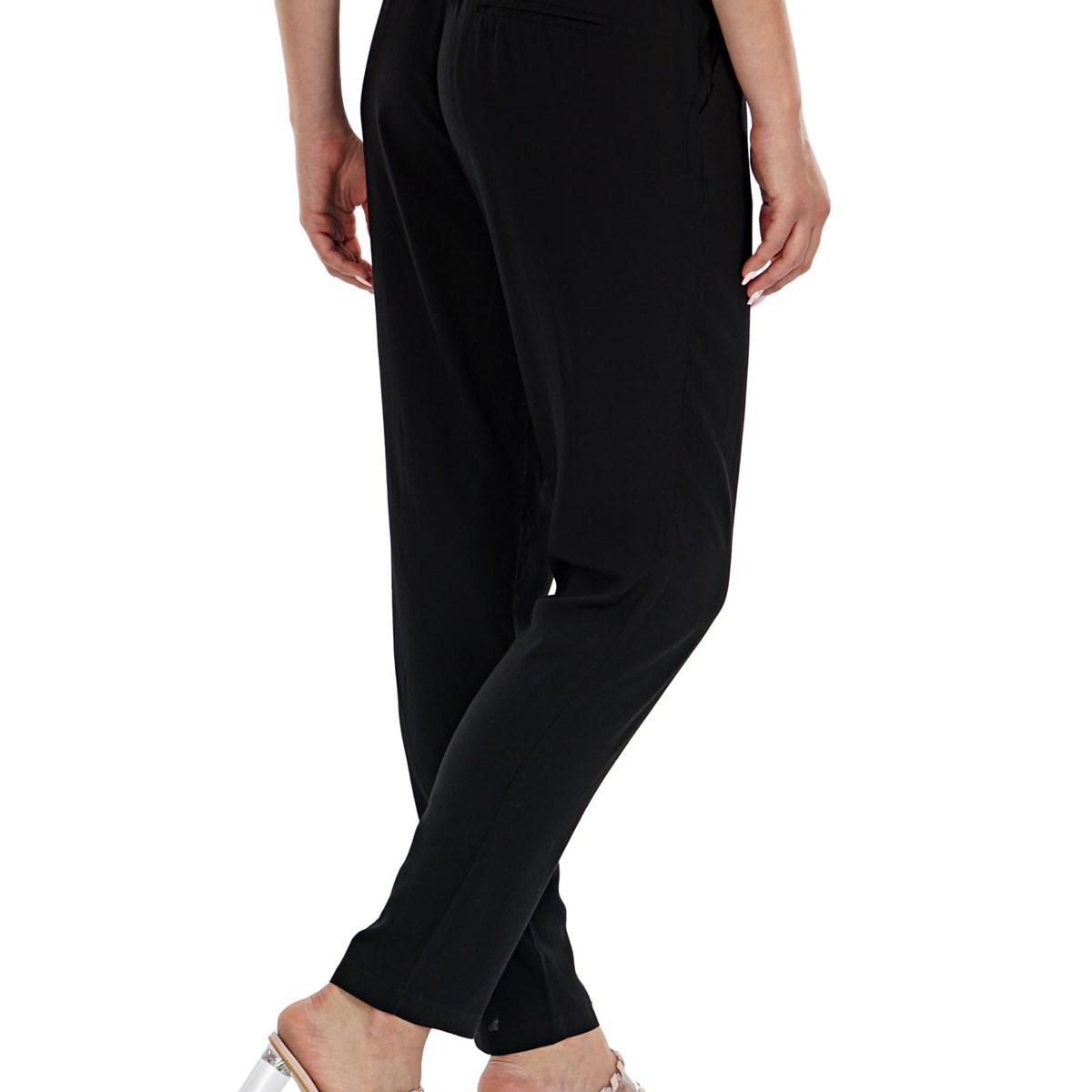 Onlnova Kadın Siyah Pantolon (15172775-Black)