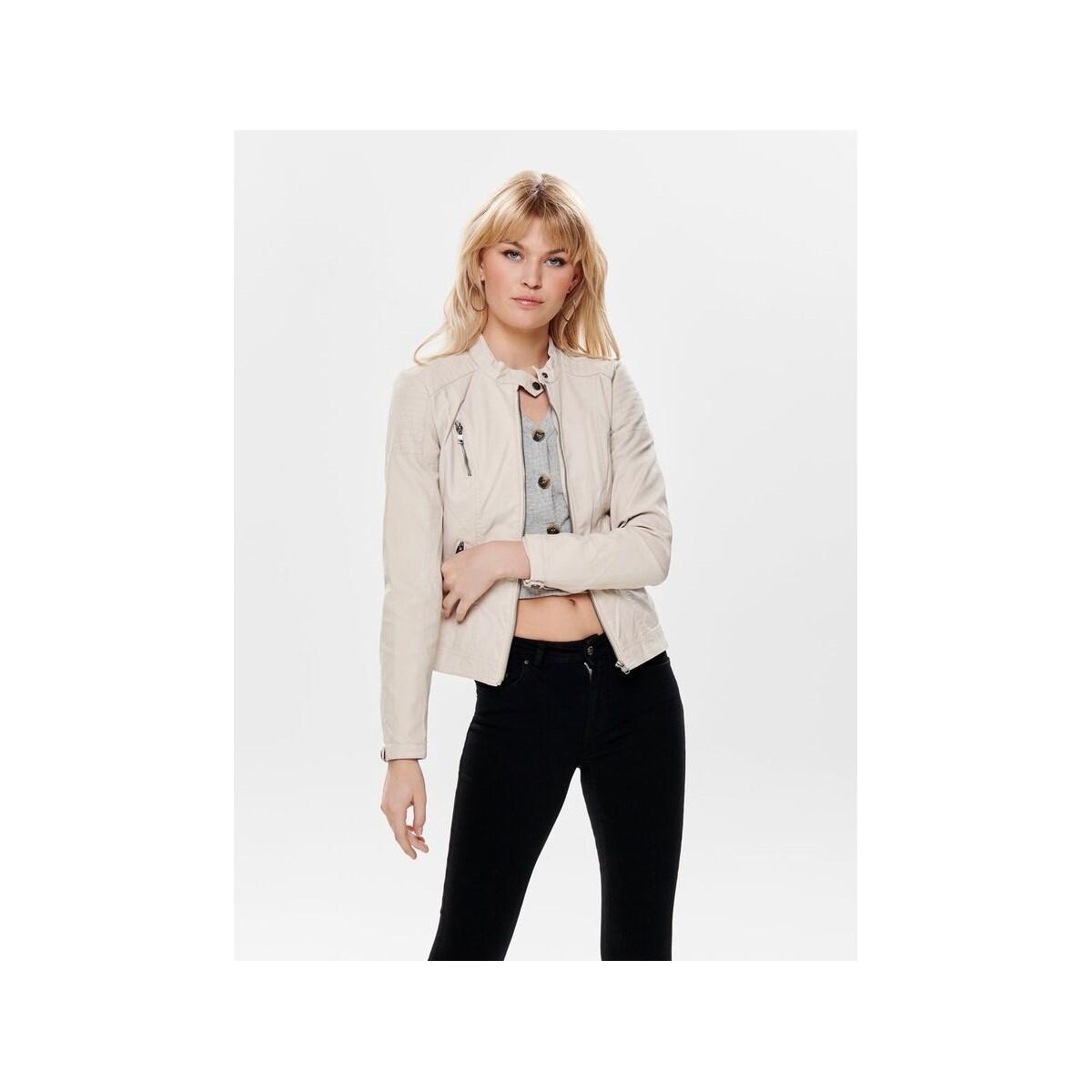 Onlsteady Faux Leather Jacket Otw