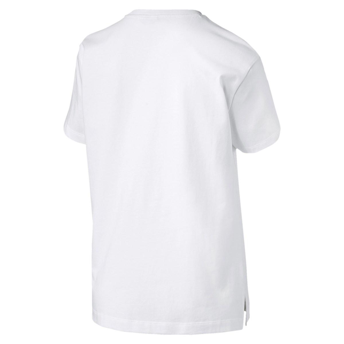 Classics Logo Kadın Beyaz Tişört