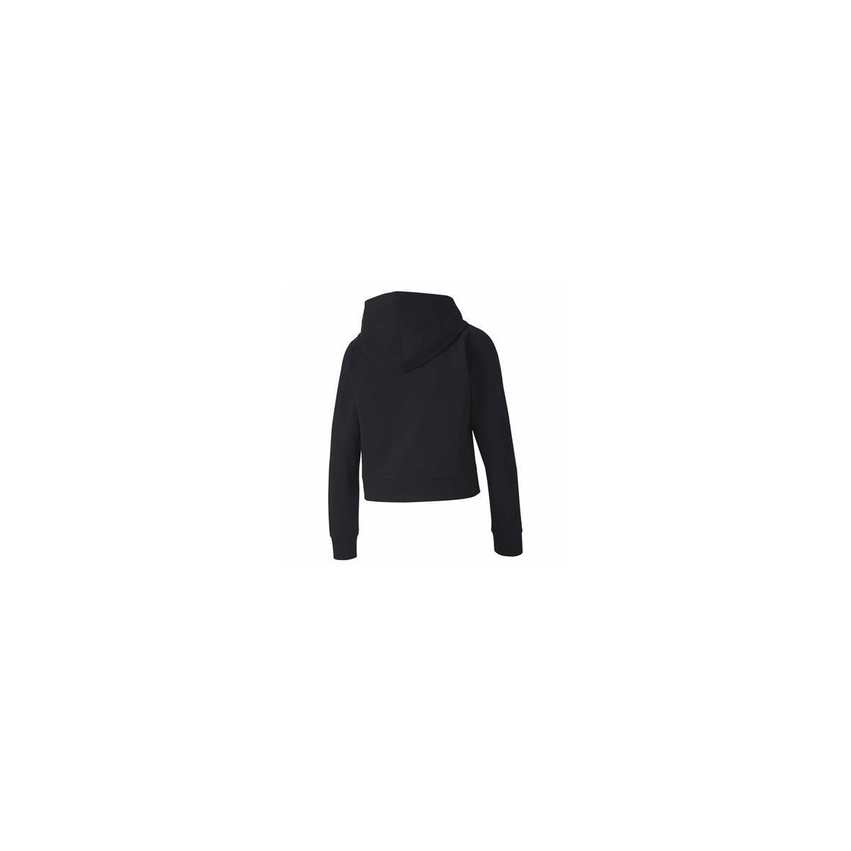 Puma Rtg Kadın Siyah Fermuarlı Sweatshirt