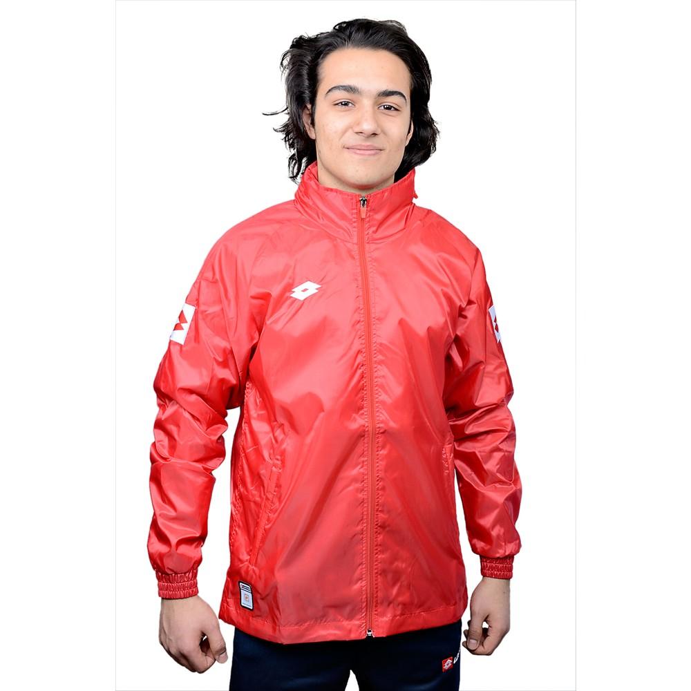 Delta Astarlı Erkek Kırmızı Yağmurluk