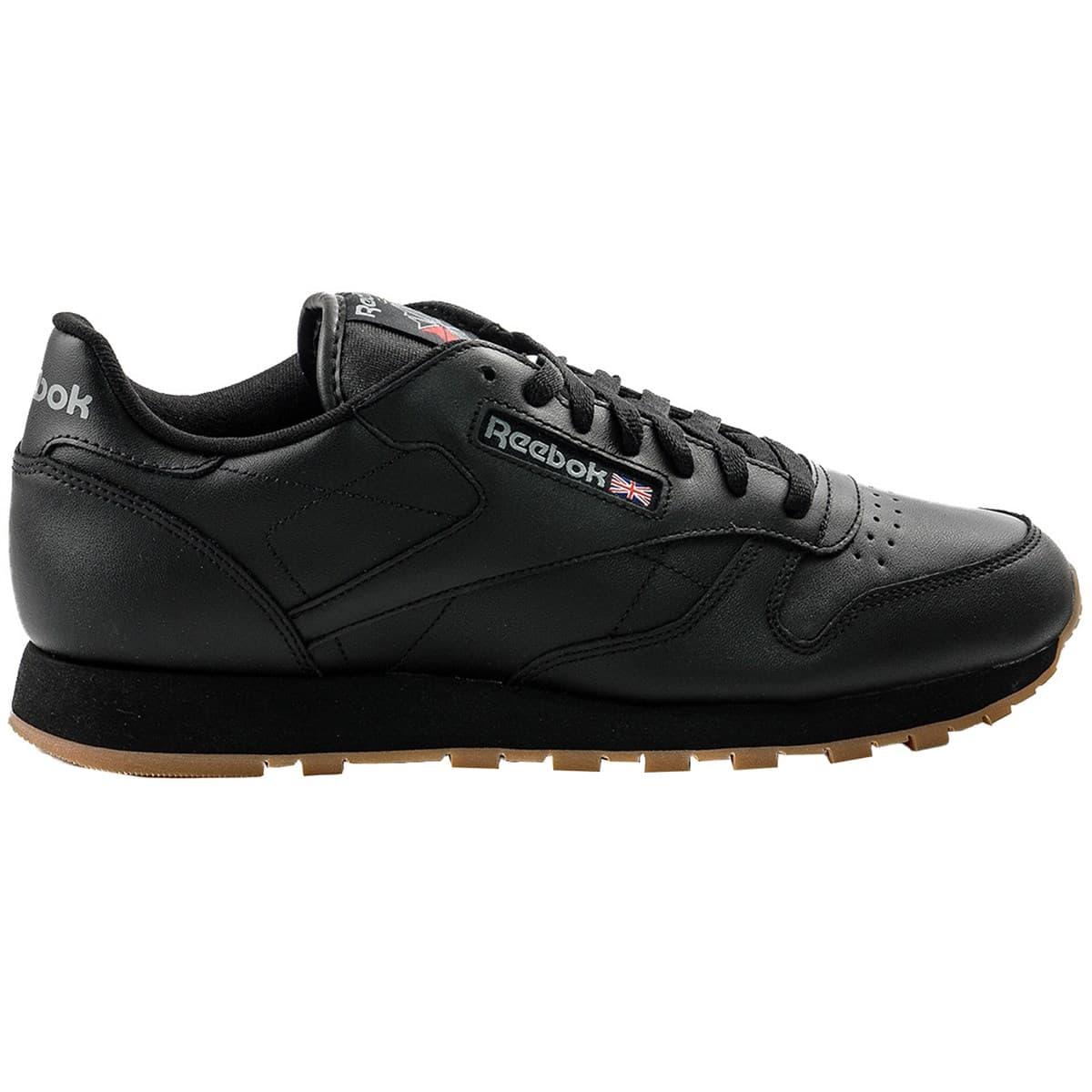 Classic Leather Erkek Siyah Spor Ayakkabı