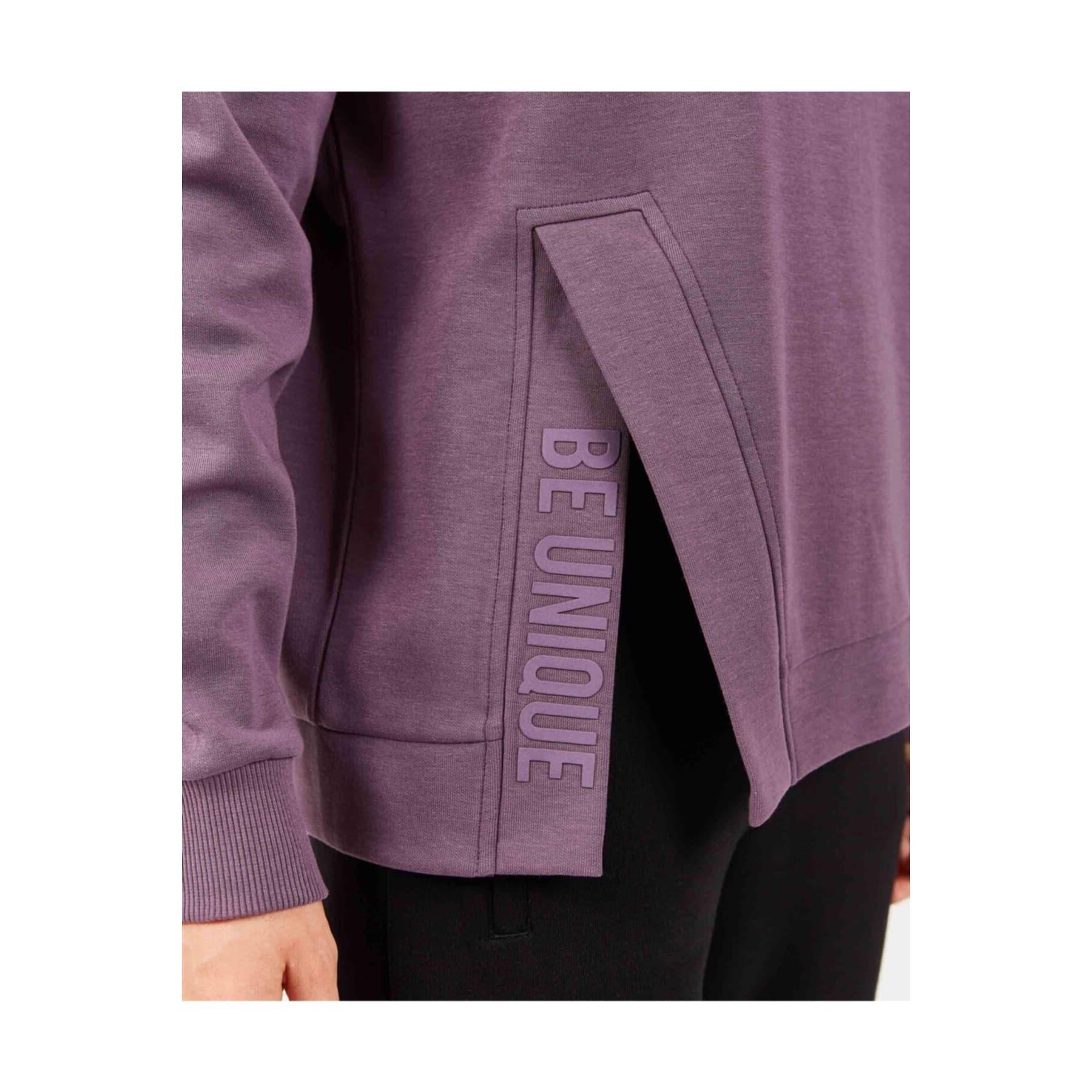 2X I-Lock Printed Kadın Mor Sweatshirt (S202051-499)