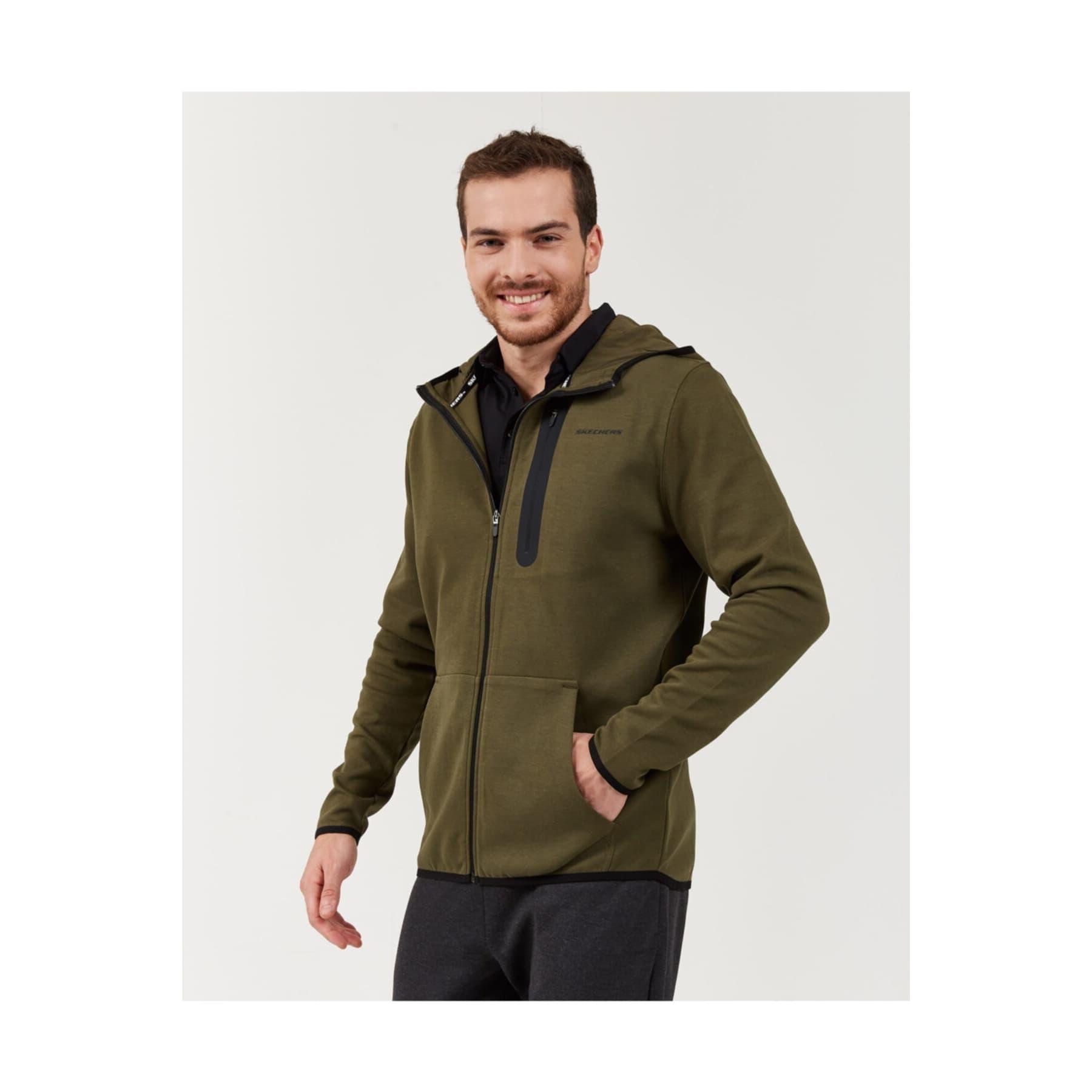 2X I-Lock Printed Erkek Yeşil Sweatshirt (S202095-801)