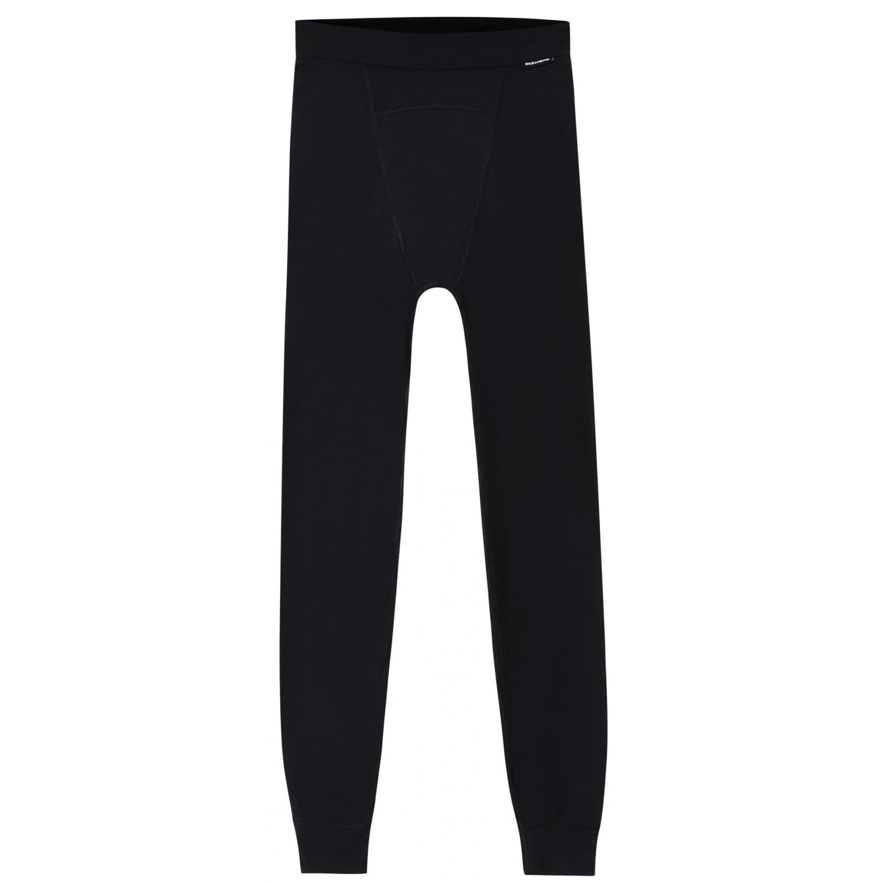 Thermal Slim Erkek Siyah Tayt (S202603-001)