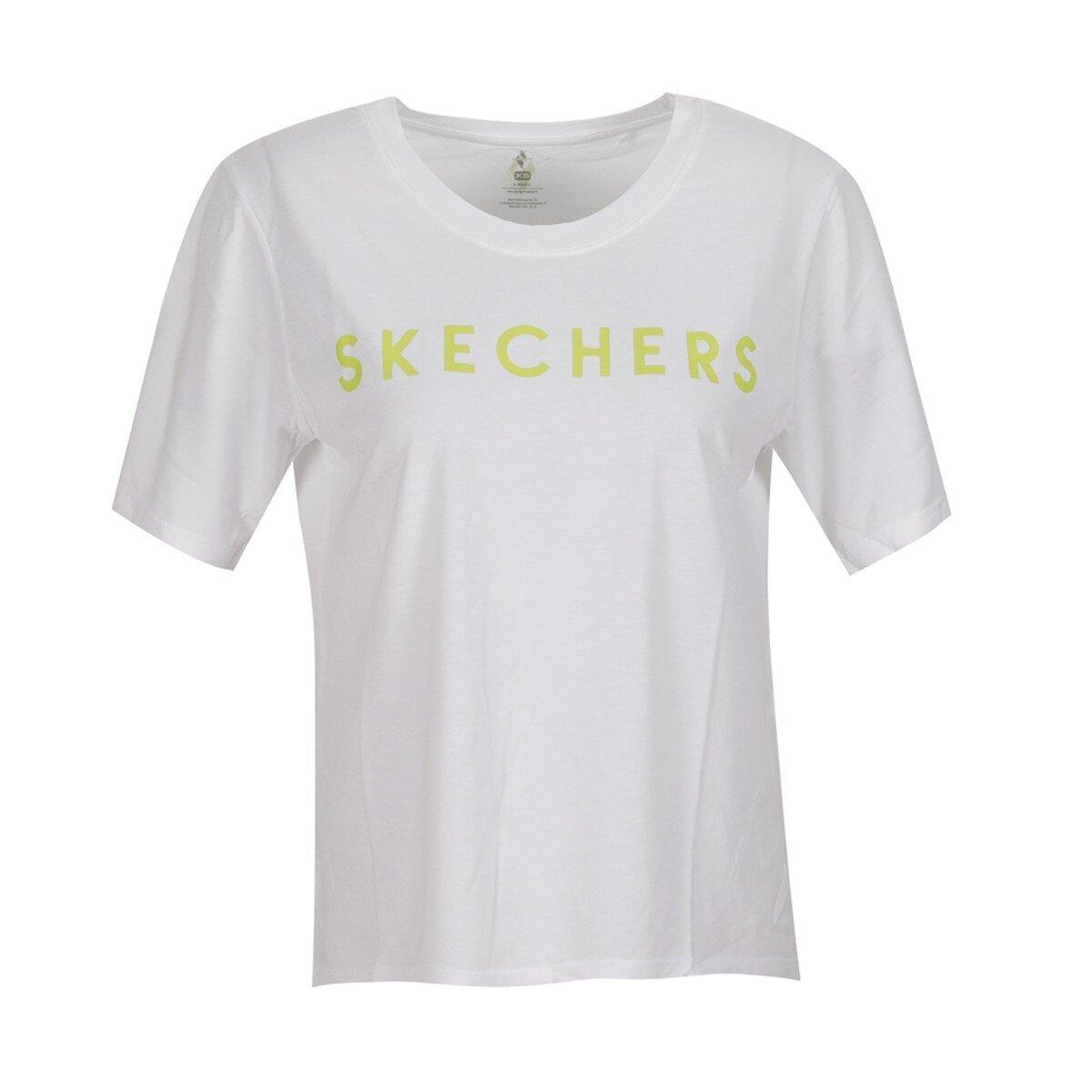 Graphic M Crew Neck Kadın Beyaz Tişört  (S211161-100)