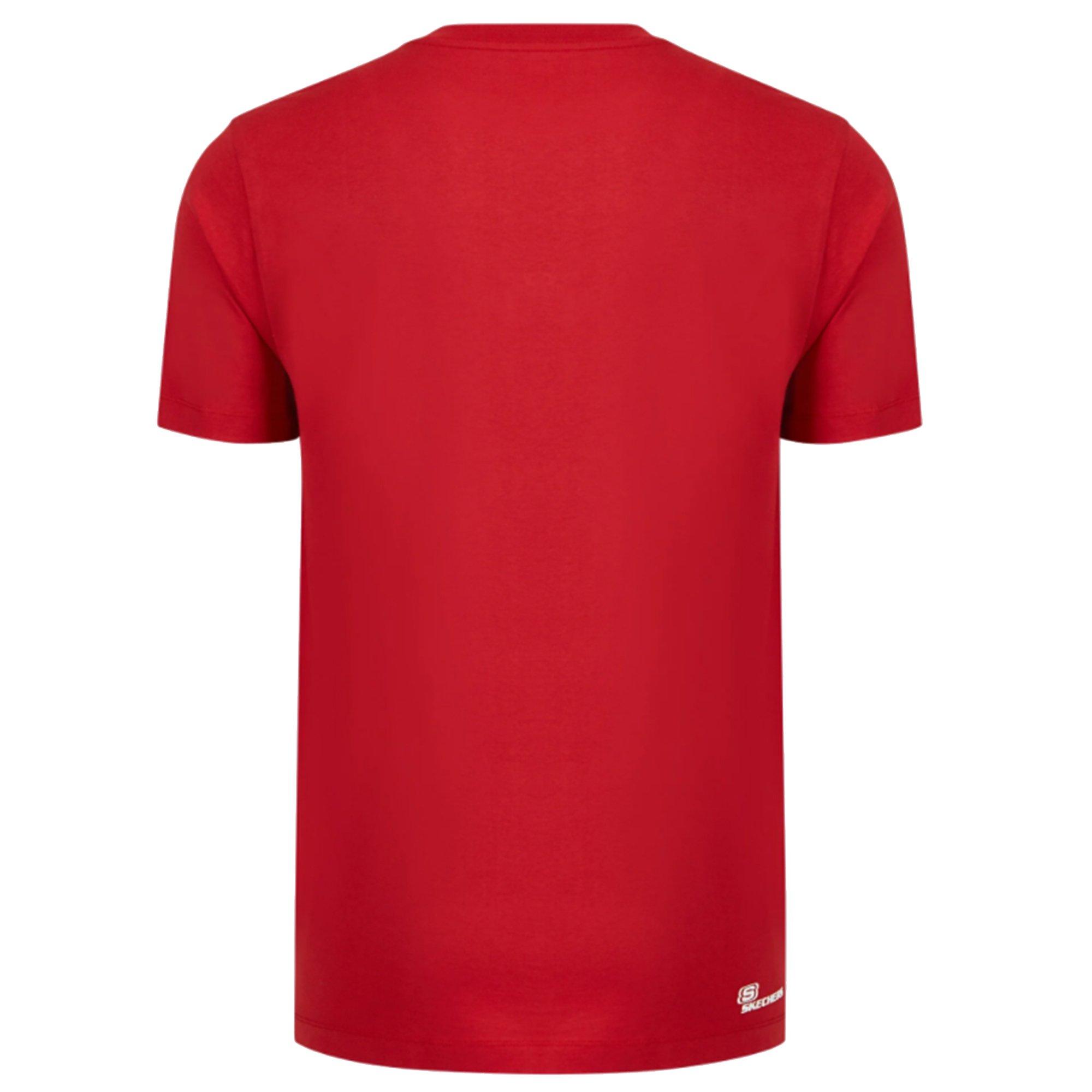 Graphic M Crew Neck Erkek Kırmızı Tişört  (S211567-600)