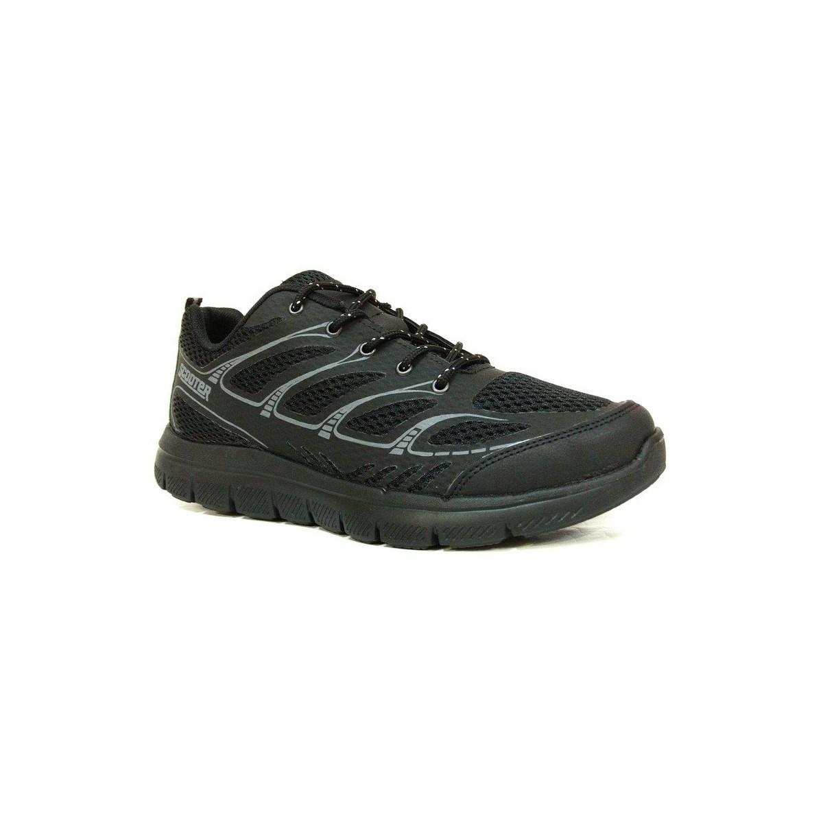Erkek Siyah Günlük Spor Ayakkabı (M5442TS)