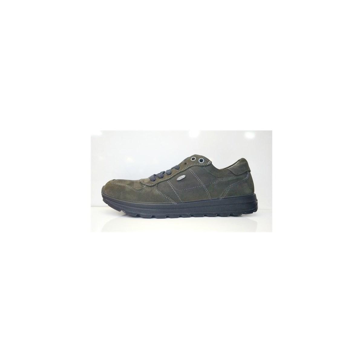 Deri Erkek Yeşil Su Geçirmez Ayakkabı (M5660NA)