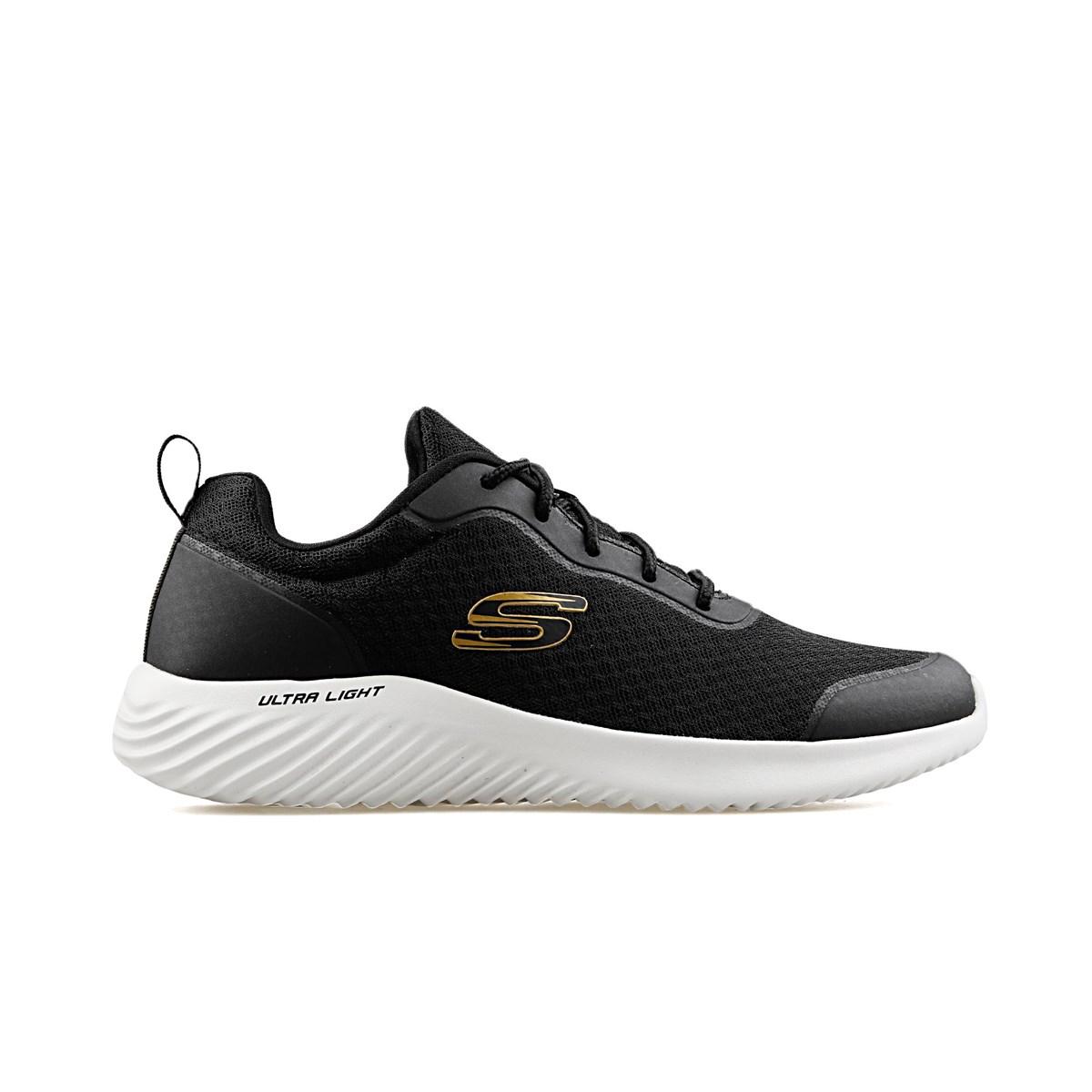 Bounder Erkek Siyah Spor Ayakkabı