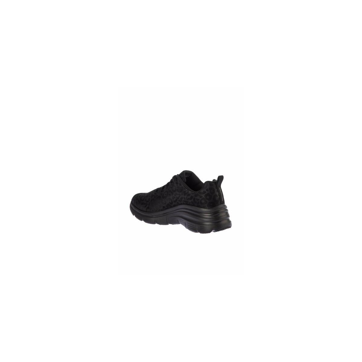 Fashion Fit Kadın Siyah Spor Ayakkabı