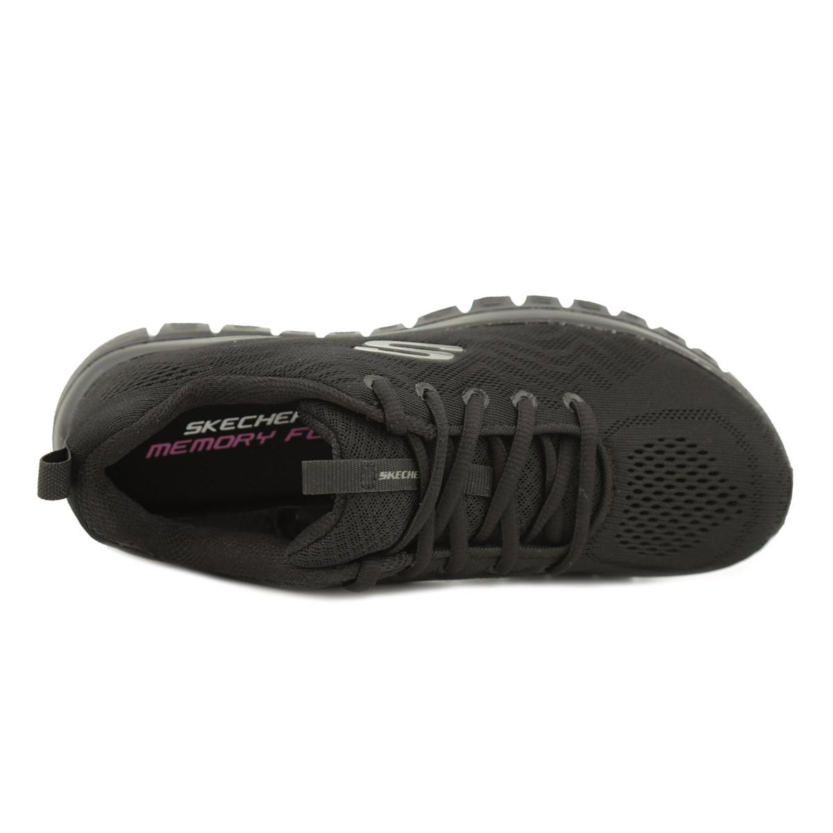 Graceful-Get Connected Kadın Siyah Spor Ayakkabı