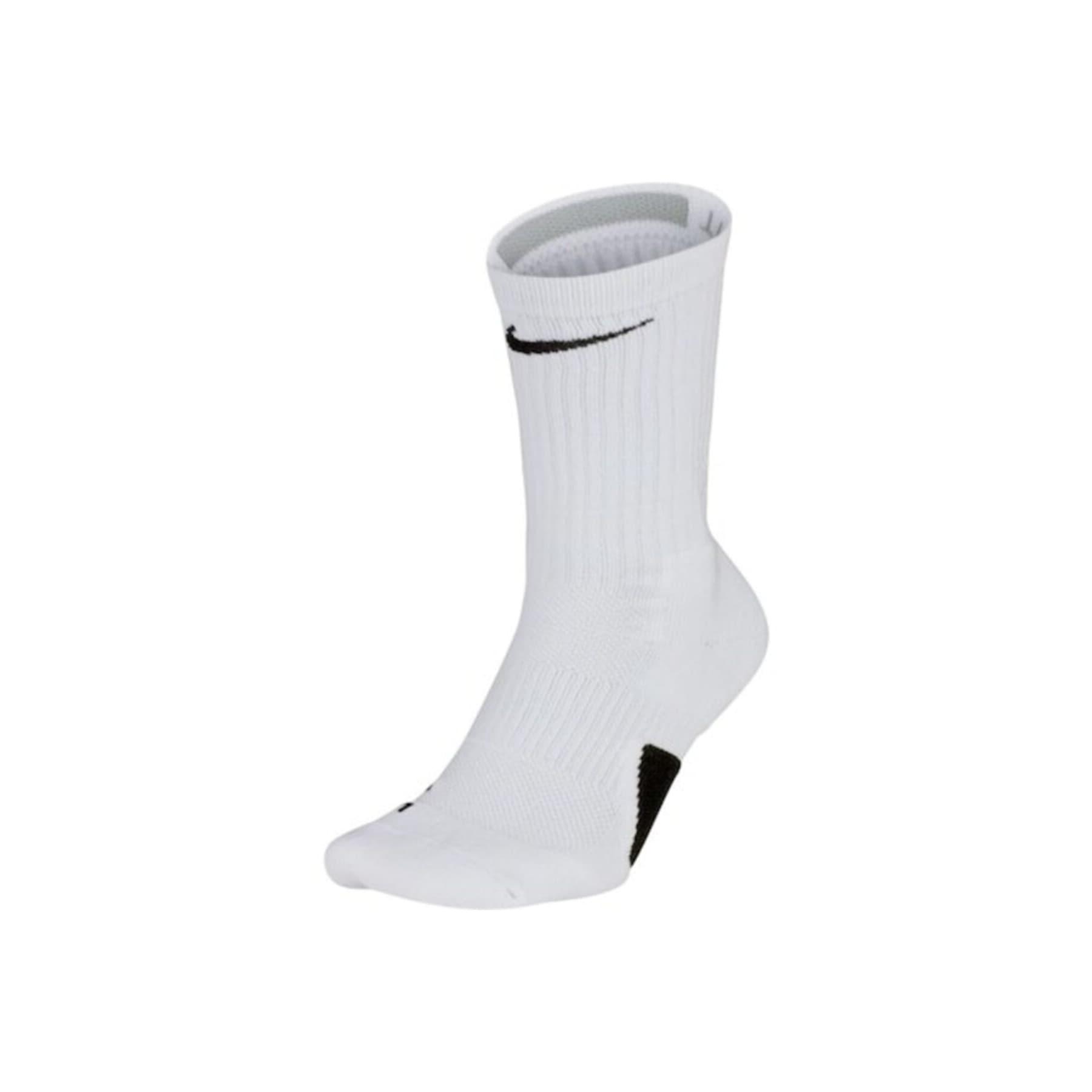 Elite Crew Beyaz Basketbol Çorabı (SX7622-100)