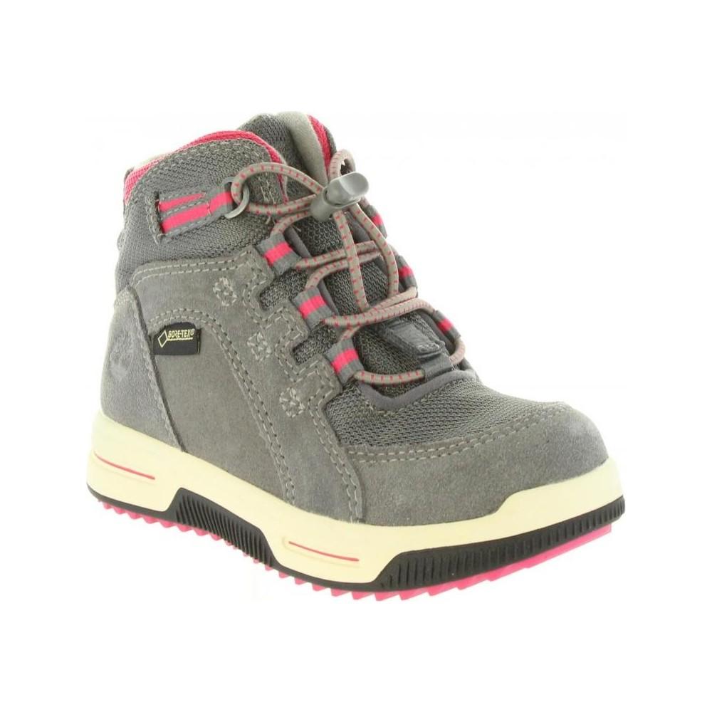 City Stomp Bungee Mid Çocuk Gri Outdoor Ayakkabı