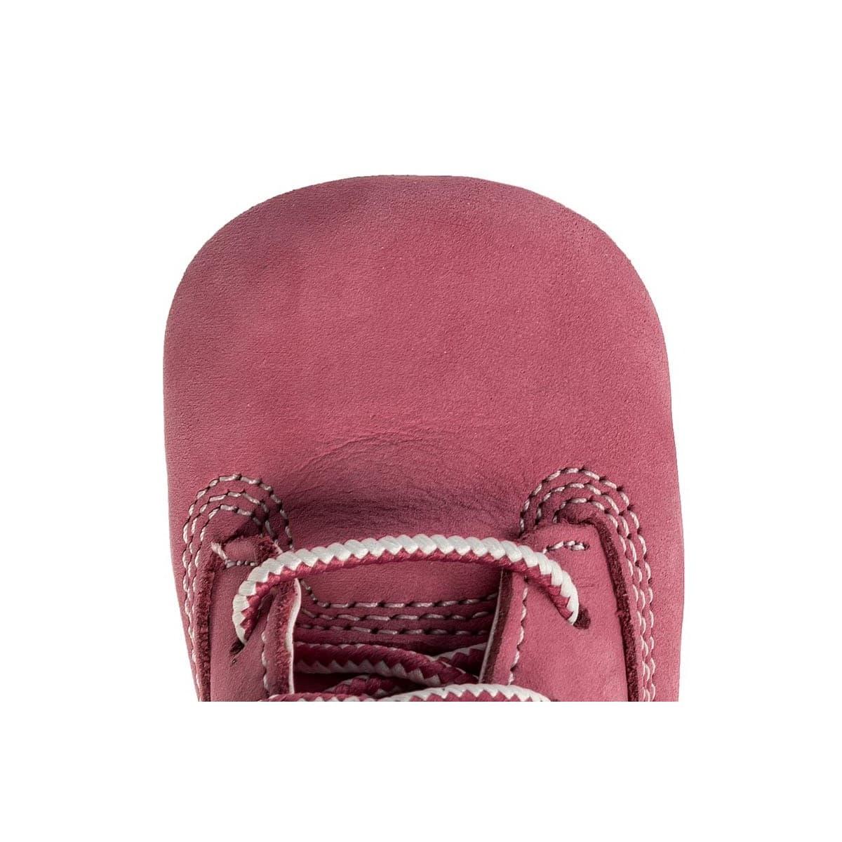 Cribie Şapkalı Bebek Pembe Bot