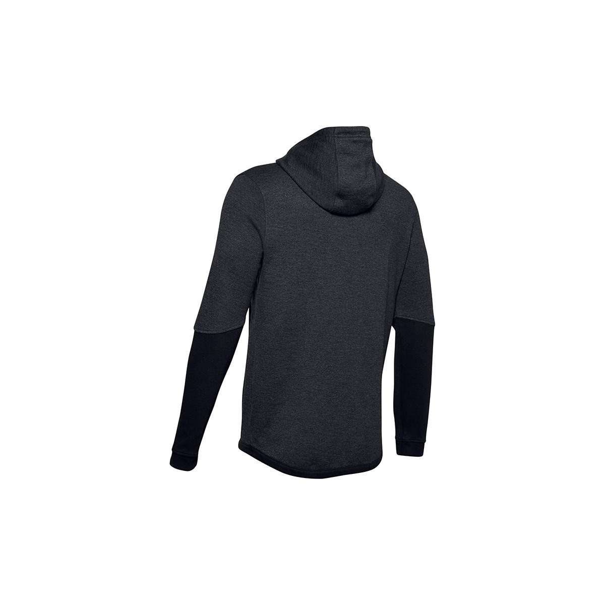 Double Knit Fz Erkek Siyah Sweatshirt
