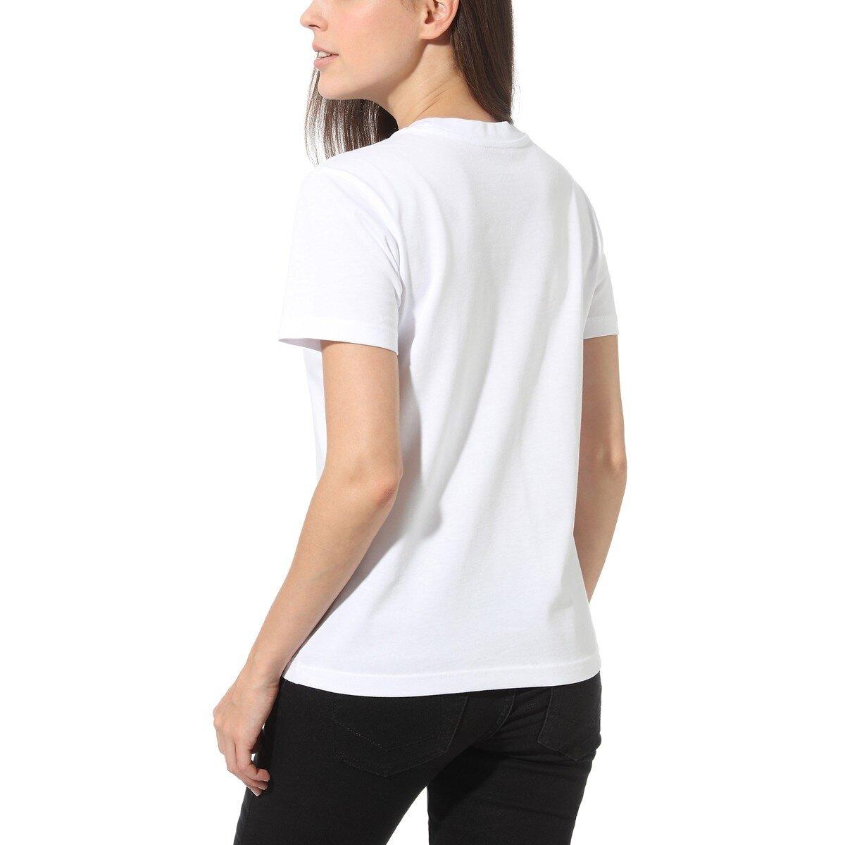Flying V Crew Kadın Beyaz Tişört (VN0A3UP4WHT1)